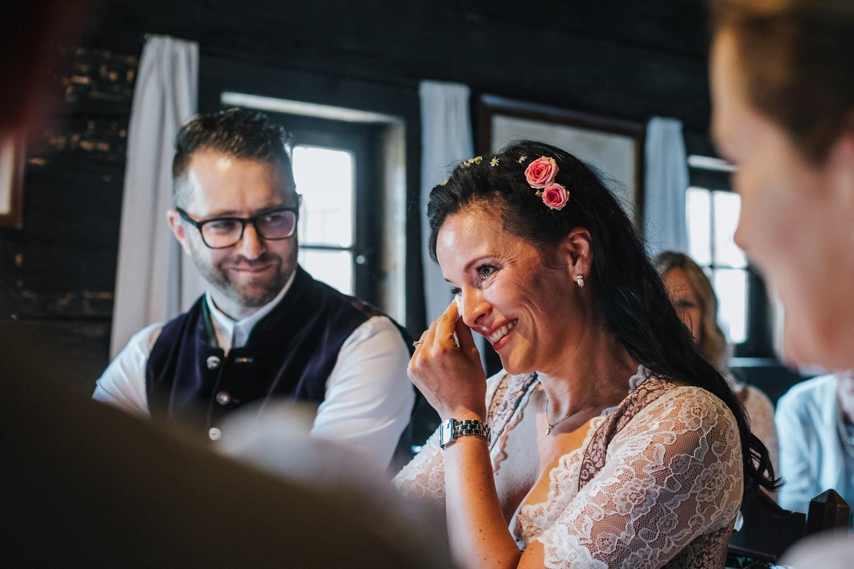 standesamtliche Hochzeit im Museumsdorf Tittling,