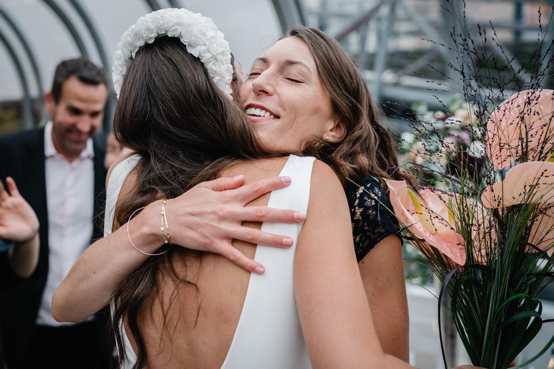 Hochzeit auf dem Cabrioshiff MS Sunliner, Passau, GRatulation der Gäste