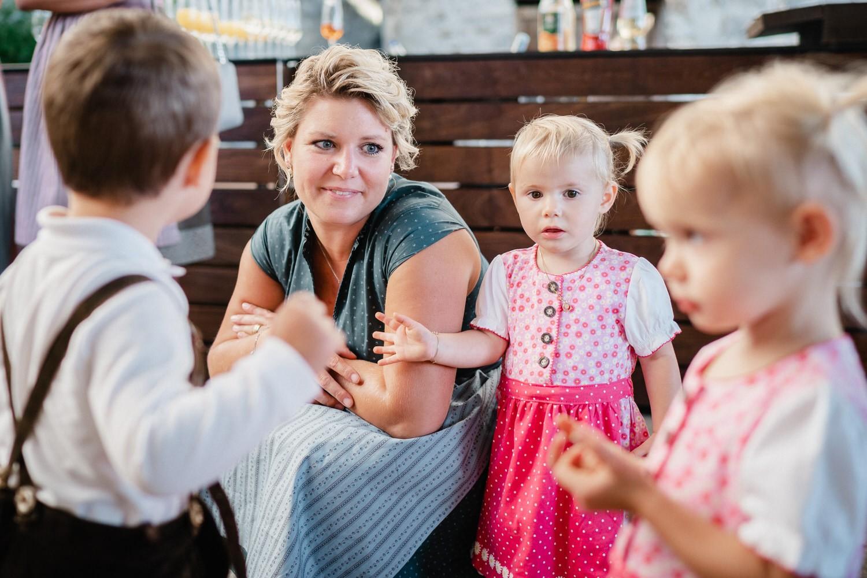 Hochzeit in der Veste Oberhaus Passau, Mutter und Tochter