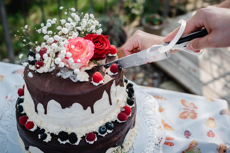 Hochzeit im Hofgut Hafnerleiten, Bad Birnbach, die Hochzeitstorte